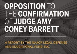 Opposition to the Confirmation of Judge Amy Coney Barrett