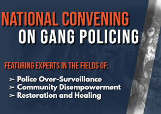 National Convening on Gang Policing