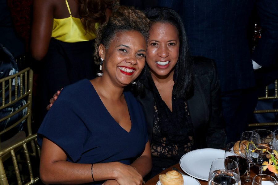 NEW YORK, NEW YORK - NOVEMBER 07: Cori Murray and Michelle Ebanks attend the NAACP LDF 33rd National Equal Justice Awards Dinner at Cipriani 42nd Street on November 07, 2019 in New York City. (Photo by Bennett Raglin/Getty Images for NAACP LDF)