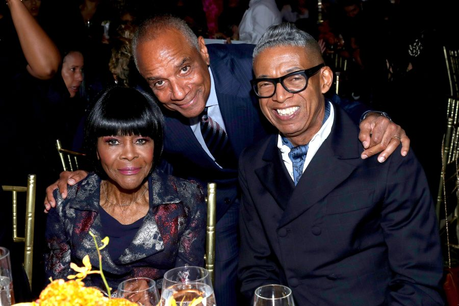 NEW YORK, NEW YORK - NOVEMBER 07: (L-R) Cicely Tyson, Ken Chenault, and B. Michael attend the NAACP LDF 33rd National Equal Justice Awards Dinner at Cipriani 42nd Street on November 07, 2019 in New York City. (Photo by Bennett Raglin/Getty Images for NAACP LDF)