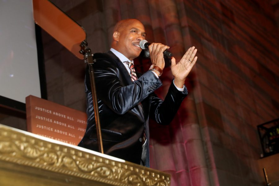 NEW YORK, NEW YORK - NOVEMBER 07:  Ray Chew performs in stage during the NAACP LDF 33rd National Equal Justice Awards Dinner at Cipriani 42nd Street on November 07, 2019 in New York City. (Photo by Johnny Nunez/Getty Images for NAACP LDF)