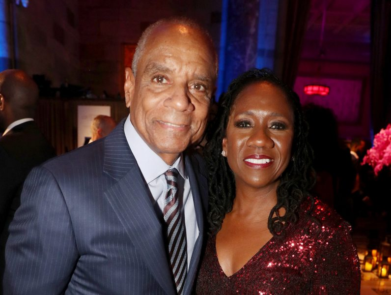 NEW YORK, NEW YORK - NOVEMBER 07:   Ken Chenault and Sherrilyn Ifill attend the NAACP LDF 33rd National Equal Justice Awards Dinner at Cipriani 42nd Street on November 07, 2019 in New York City. (Photo by Johnny Nunez/Getty Images for NAACP LDF)