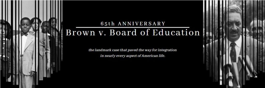 Brown v. Board of Education 65th Anniversary