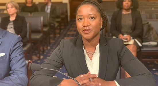 Janai Nelson Testifies before Congress on TSA's Discriminatory Policies that negatively impact Black Women
