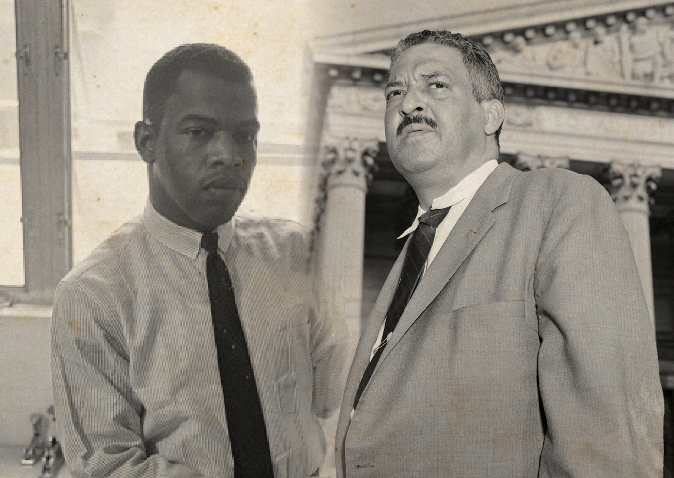 Joining Forces: Thurgood Marshall and John Lewis